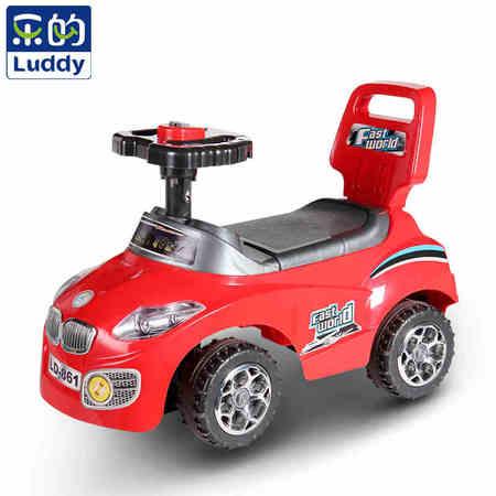 乐的儿童摇摆车扭扭车宝宝车子带音乐带靠背儿童滑行车溜溜车新款