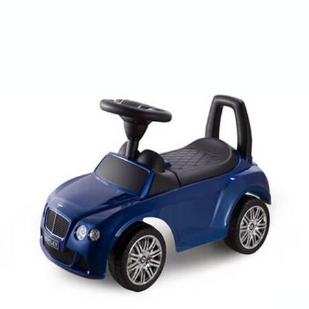 智乐堡宾利扭扭车带音乐儿童滑行车宝宝摇摆溜溜车助步车玩具童车