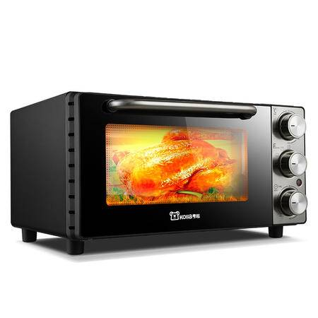 考啦防烫电烤箱 GF-1306SG 现代银 13L 家用迷你电烤箱