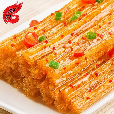 飞旺 湖南特产飞旺辣条 八宝里青丝35g*20袋面制品 麻辣休闲食品零食