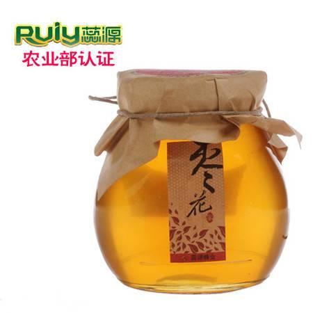 蕊源蜂蜜 自然三倍体枣花蜜 赞皇纯天然农家自产野生土蜂蜜390克