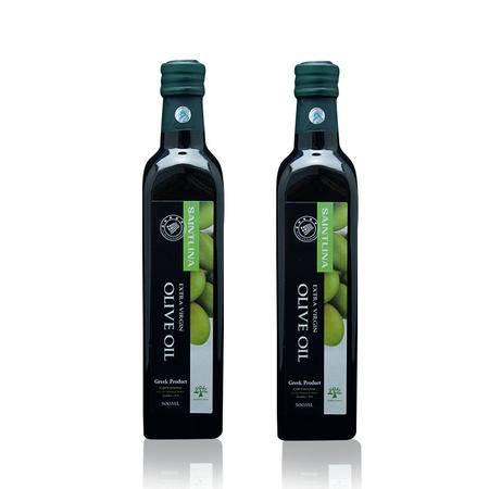 橄榄油 赛瑞娜500ml*2瓶精装版 希腊进口