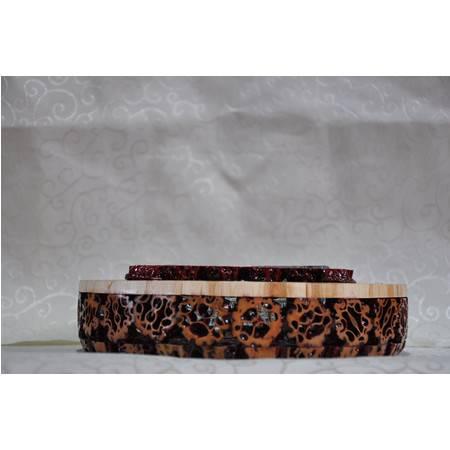 烟灰缸 创意山核桃工艺品 纯手工核桃烟灰缸