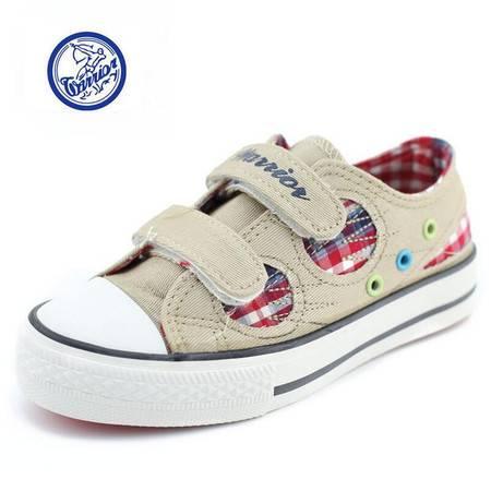 江云飞辉跃厂家直销8593D新款爆款时尚儿童鞋休闲帆布鞋童鞋一件代发牛派