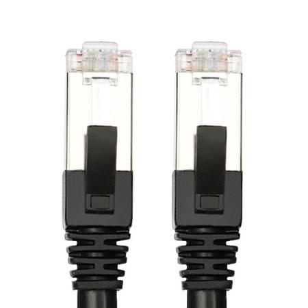 中视讯无氧铜双层屏蔽双绞线成品六类网线2米 W2-2