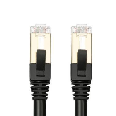 中视讯无氧铜双层屏蔽七类万兆网线1米 W3-1