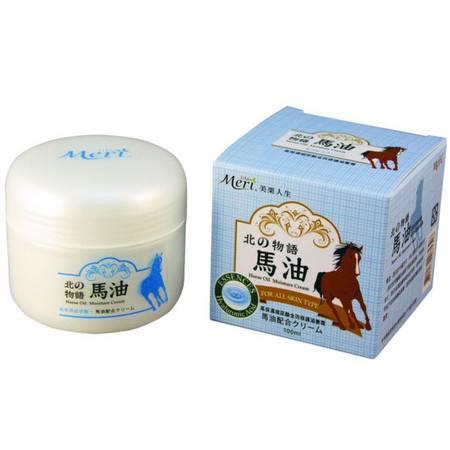 [台灣製造進口] 美栗人生_玻尿酸馬油全效修護滋養霜-100ml