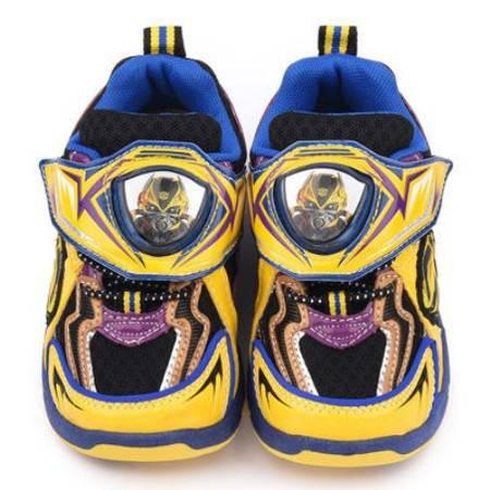[台灣製造進口] 變形金剛LED電燈透氣運動鞋