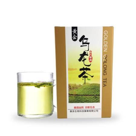 [台灣製造進口]黃金烏龍茶80公克/盒