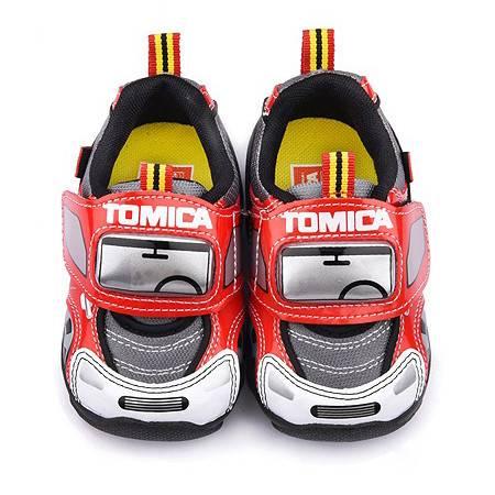 [台灣製造進口]多美小汽車中小童帥氣電燈鞋[3種顏色可選擇]---金選台寶GO