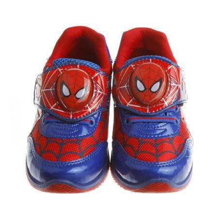 [台灣製造進口]蜘蛛人電燈鞋[紅藍]---金選台寶GO