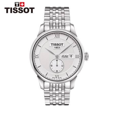 天梭tissot  瑞士手表力洛克系列机械男表T006.428.11.038.01