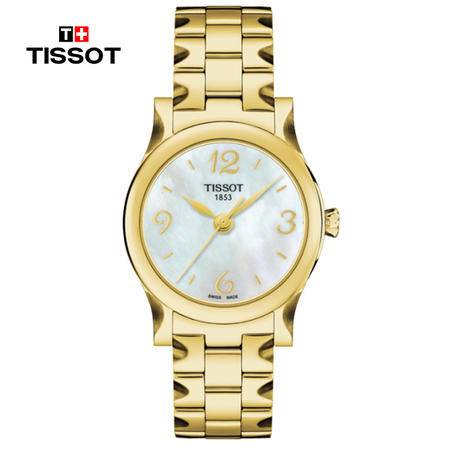 天梭 Tissot-月亮女神系列 女士石英表 腕表 女士手表 T028.210.33.117.00