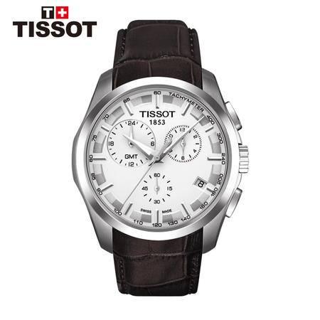 天梭Tissot-库图系列  石英男表  腕表 男士手表T035.439.16.031.00