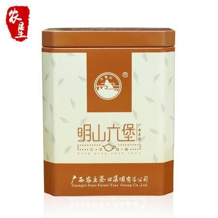 大明山黑茶  广西农垦茶叶 质量可溯源 明山六堡茶叶 200g/罐