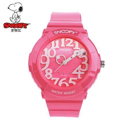 史努比 (Snoopy)儿童手表 运动系列  SNW741-2583粉色