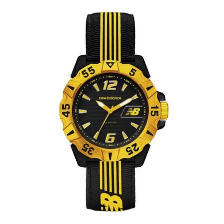 New Balance 新百伦 橡胶喷涂腕表 手表 28-504-004黄色