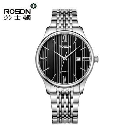 劳士顿手表 正品精准石英表 防水超薄情侣表 男表女表 腕表 情侣手表3165GL