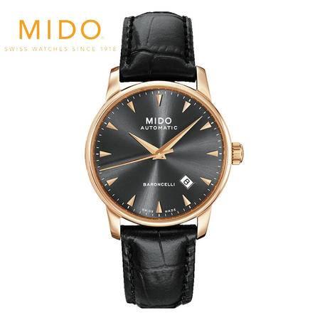 美度MIDO-贝伦赛丽系列  机械男表 腕表 男士皮带手表 M8600.3.13.4