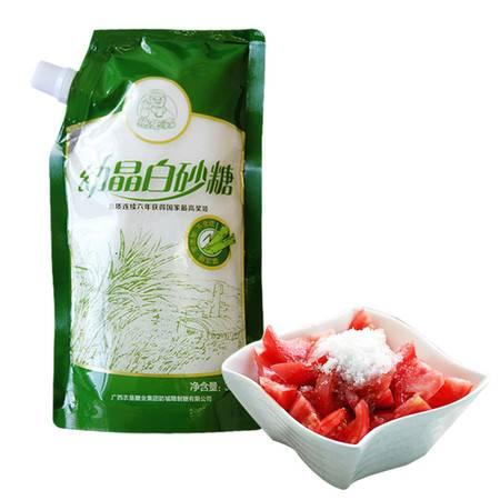【农垦-广西】糖先森 幼晶白砂糖300g/袋 无硫白糖 烘培细砂糖 白糖 300g*1袋