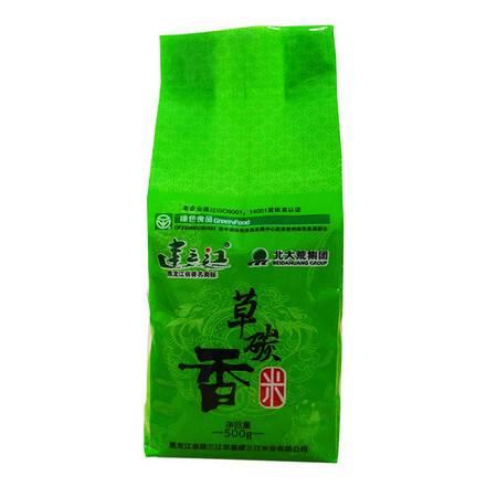 建三江  农垦大米 无农药  有机健康食品  草炭香米500g/袋