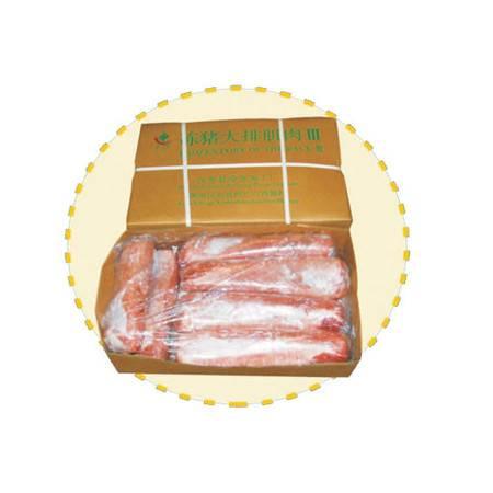 冻猪大排肌肉 含有大量磷酸钙、骨胶原、骨粘蛋白等可提供钙质