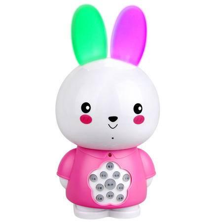 纽曼新款嗨嗨兔故事机X70 孕期早教机mp3婴幼儿益智玩具-粉色