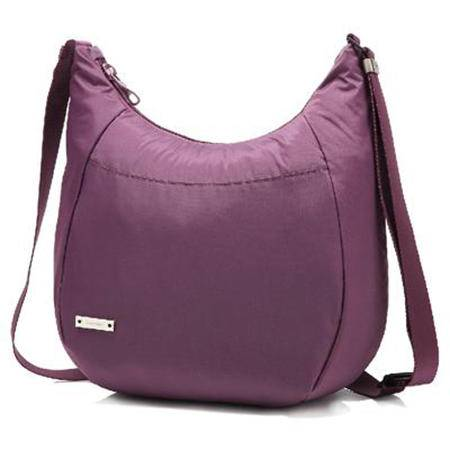 壳罗沃Kolovo 安全防盗-女士单肩包-丽影小钢甲-紫色