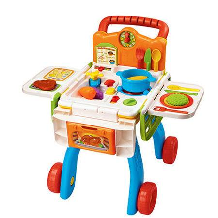 伟易达VTech 厨房购物车过家家儿童早教益智玩具