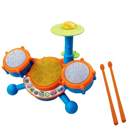 伟易达VTech 霹雳架子鼓学拼音儿童架子鼓玩具儿童早教益智玩具