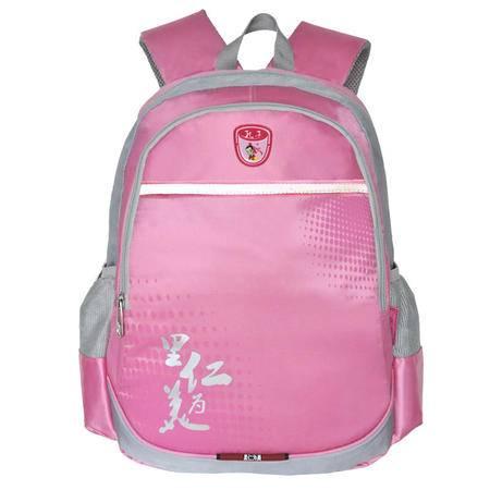 Kongzi孔子书包 2016年新款学生1-6年级男女背包D102F-粉色