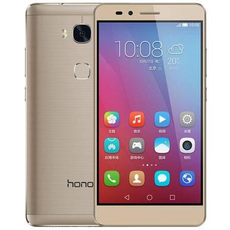 华为(HUAWEI) 荣耀 畅玩5X 4G手机 移动4G版(2G RAM+16G ROM)- 落日金