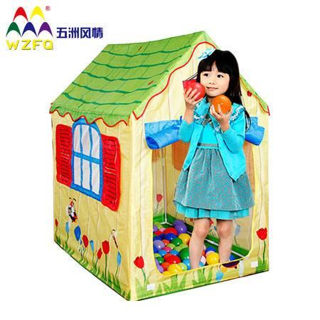 五洲风情海洋球池帐篷 便携牛津布儿童帐篷宝宝玩具屋游戏屋新年礼物