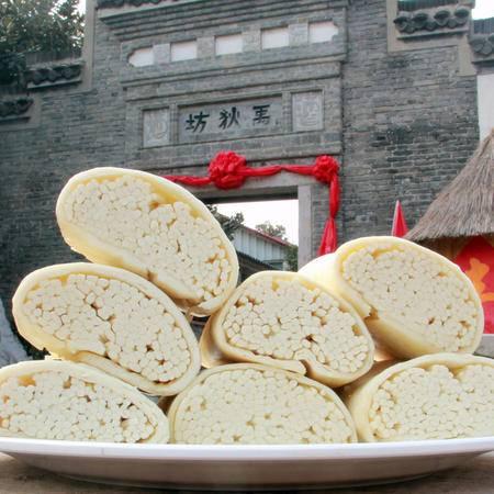 禾泉农庄 猴发馒头传统面引子工艺 精选优质小麦粉 仅蚌埠地区出售每份8个礼盒装