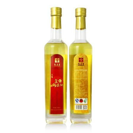 木皇金龙禧山茶油 天然物理压榨食用油礼盒装 500ml*2