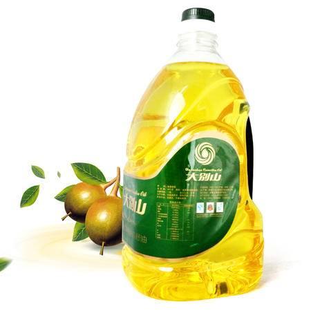 大别山山茶籽油 植物油 茶油 茶籽油 4.5L 一桶装 来自大别山的问候