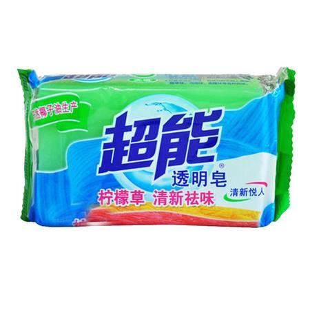 【郑州馆】超能透明皂200G 6块组  全国包邮