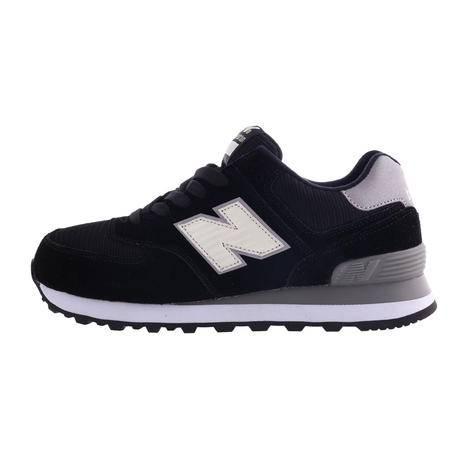纽巴伦 运动鞋男女鞋秋冬新款跑步休闲鞋 黑色经典