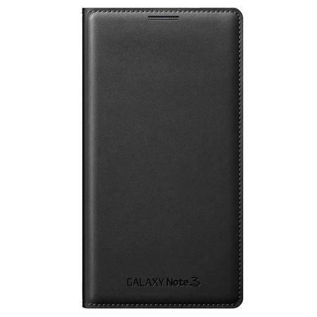 SAMSUNG/三星 NOTE3 插卡式炫彩保护套 I9008手机套 I9006保护套 黑色