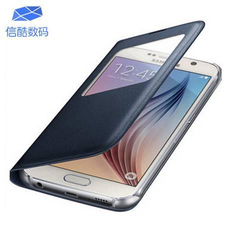 三星S6 智能保护皮套手机壳 适用于三星S6/G9200/G9208/G9209/G920F