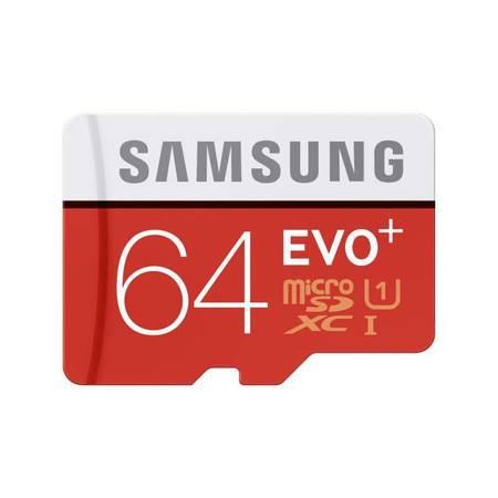 三星 MicroSD存储卡手机相机内存卡TF存储卡 64G(80MB/s)
