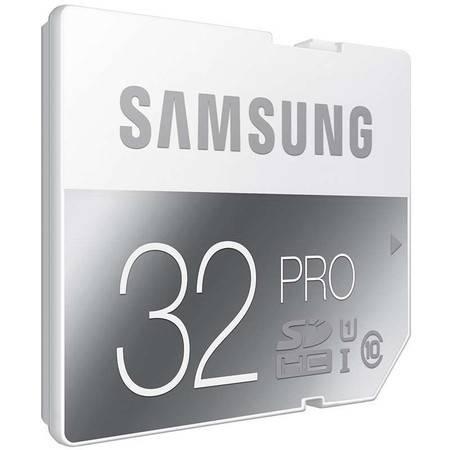 三星(SAMSUNG)SD存储卡相机内存卡单反储存卡 80MB/s 专业版PRO 32GB