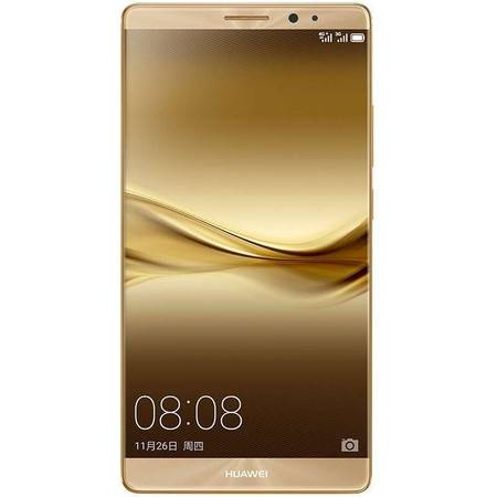 华为 HUAWEI Mate8 双卡双待 全网通4G手机 香槟金 4G RAM+128G ROM高配