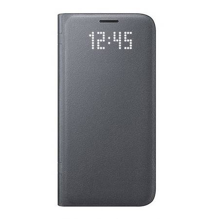 三星S7edge原装LED智能保护套 S7edge曲面屏手机 LED保护皮套 手机保护壳 适用于S7