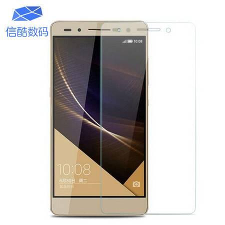 华为荣耀7钢化玻璃膜 防油防刮 荣耀7手机贴膜保护膜