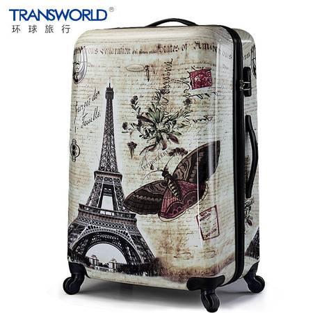 Transworld行李箱万向轮女拉杆箱男28寸旅行箱登机箱包学生拉箱潮