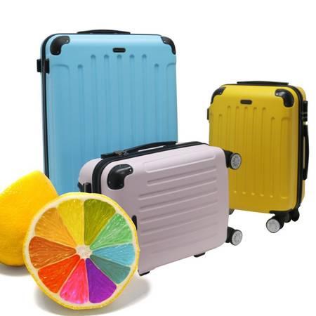 transworld旅行箱包拉杆箱万向轮女20寸行李箱学生登机箱