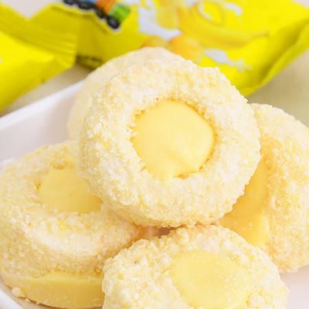 香港美伦多进口零食软心甜甜圈 香蕉牛奶味夹心饼干200g美食【活动专用】