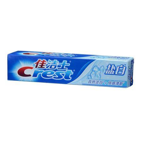 佳洁士牙膏盐白(清凉薄荷香型)90克  正品