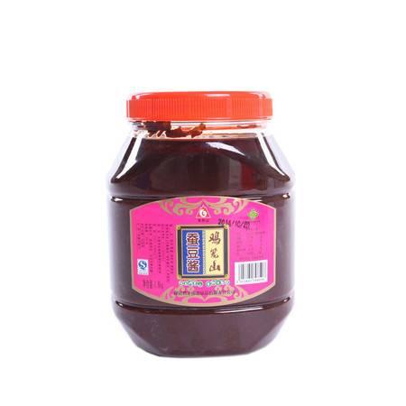 和州馆安徽和县特产鸡笼山蚕豆酱1600g